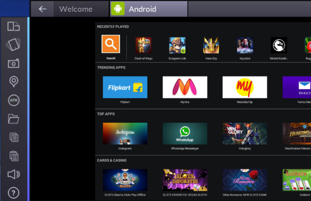 BlueStacks Screenshot for Windows10