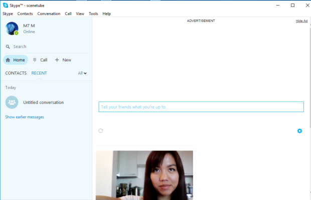 Skype Screenshot for Windows10