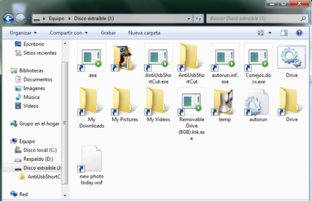 USB File Resc Screenshot for Windows10