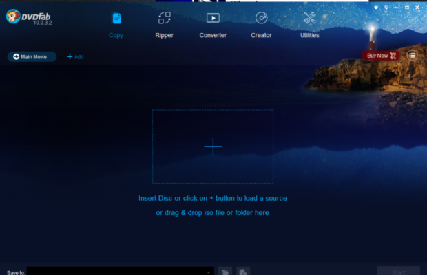 DVDFab Screenshot for Windows10
