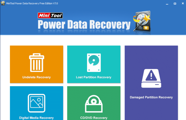 MiniTool Power Data Recovery Free Screenshot for Windows10