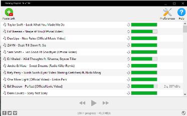4K YouTube to MP3 Screenshot for Windows10