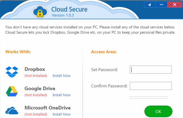 Cloud Secure Screenshot for Windows10