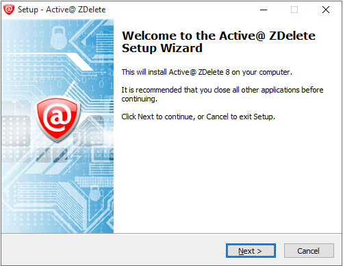 Active@ ZDelete Screenshot for Windows10