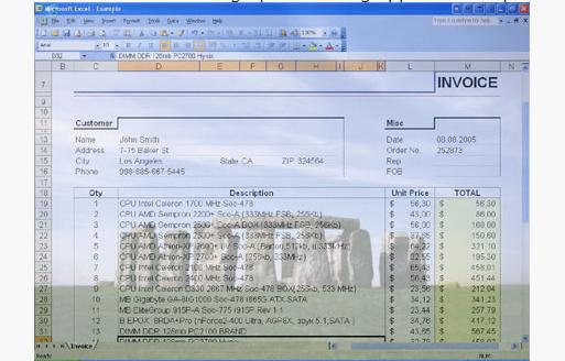 Actual Transparent Window Screenshot for Windows10