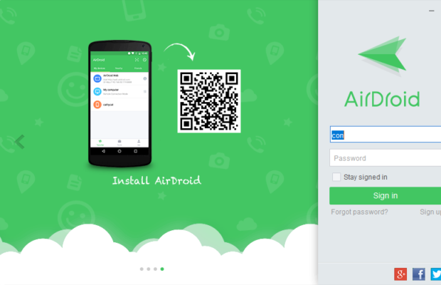 AirDroid Screenshot for Windows10