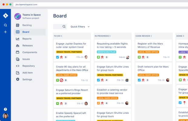 Atlassian Jira Screenshot for Windows10