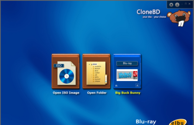 CloneBD Screenshot for Windows10