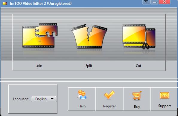 ImTOO Video Editor Screenshot for Windows10