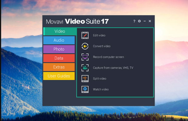 Movavi Video Suite Screenshot for Windows10