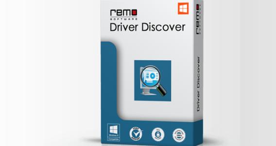 Remo Driver Discover Screenshot for Windows10