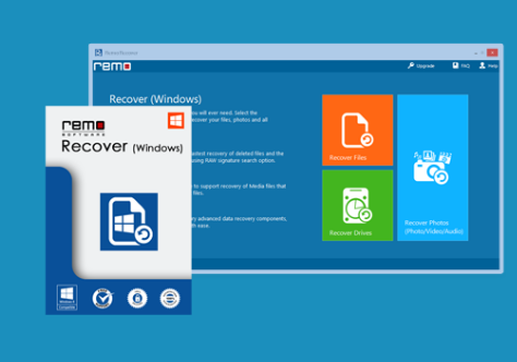 Remo Recover Screenshot for Windows10