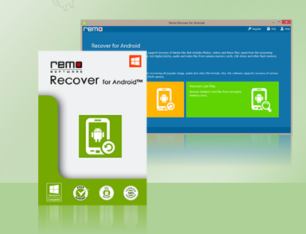 Remo Recover for Android Screenshot for Windows10