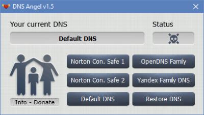 Dns Angel Screenshot for Windows10