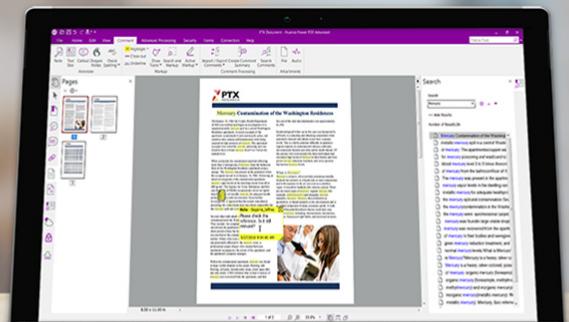 Nuance Power PDF Screenshot for Windows10