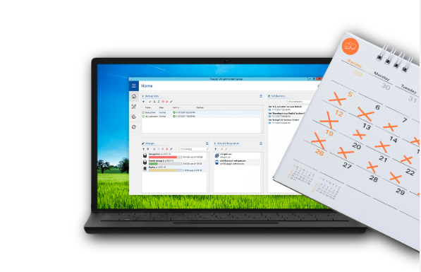 Paragon VM Backup Screenshot for Windows10