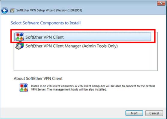 SoftEther VPNGate Client Plugin Screenshot for Windows10