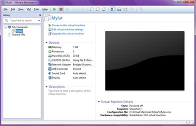 VMware Workstation Pro Screenshot for Windows10
