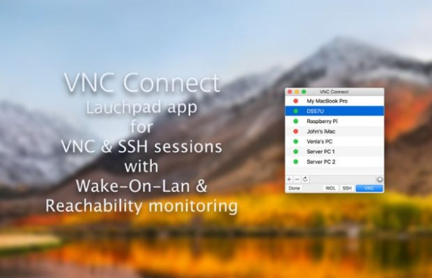 VNC Connect Screenshot for Windows10