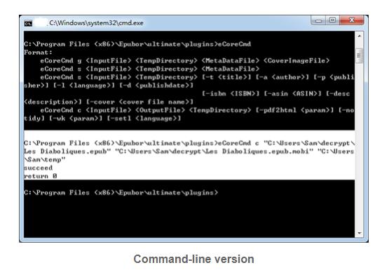 Epubor eCore Screenshot for Windows10