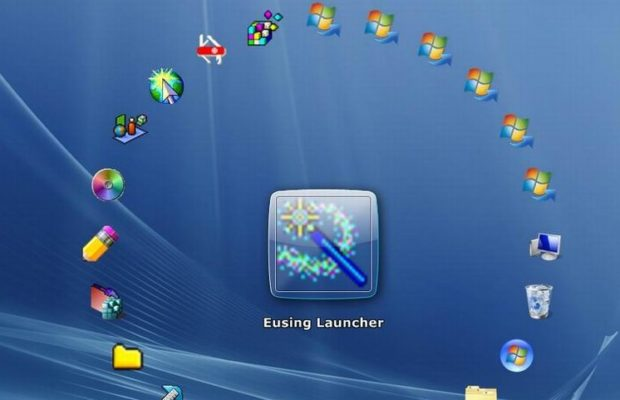 Eusing Launcher Screenshot for Windows10