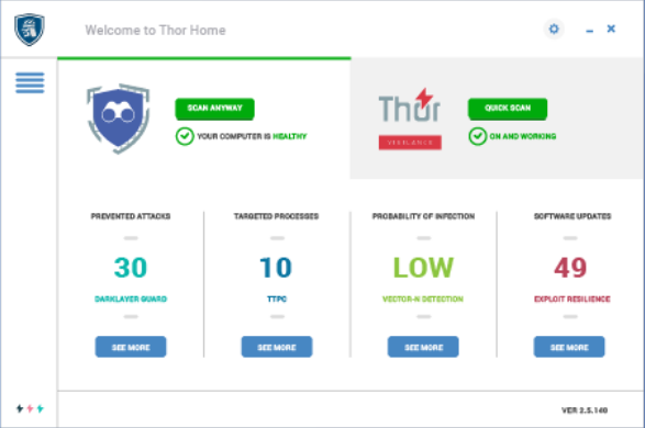 Thor Premium HOME Screenshot for Windows10