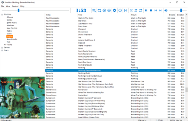 VUPlayer Screenshot for Windows10