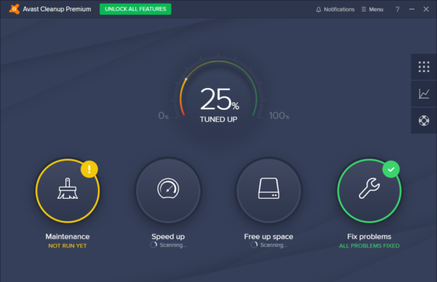 Avast browser opens on startup