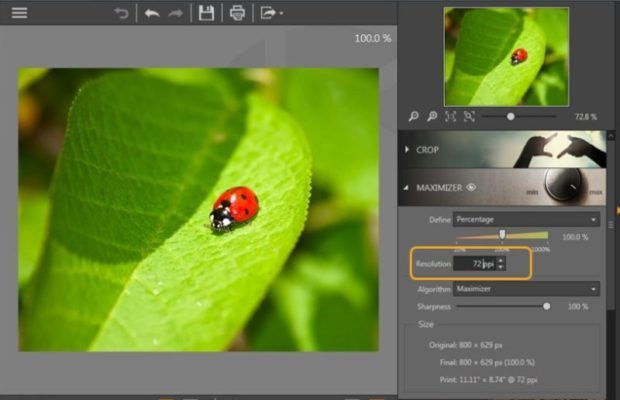 Fotophire Maximizer Screenshot for Windows10
