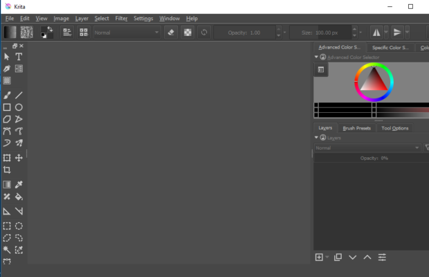 Krita Screenshot for Windows10