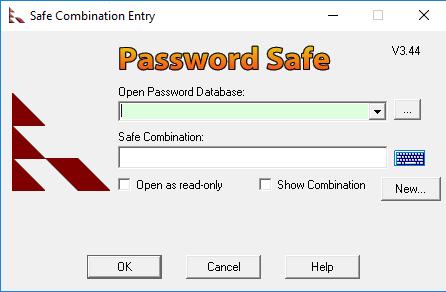 Password Safe Screenshot for Windows10