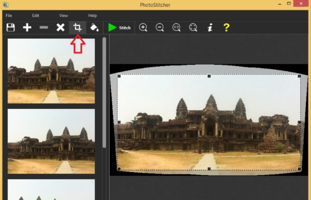 PhotoStitcher Screenshot for Windows10