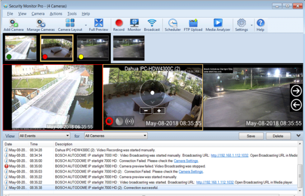 Security Monitor Pro Screenshot for Windows10