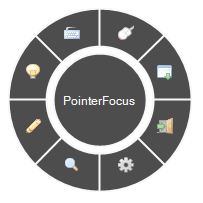 PointerFocus Screenshot for Windows10