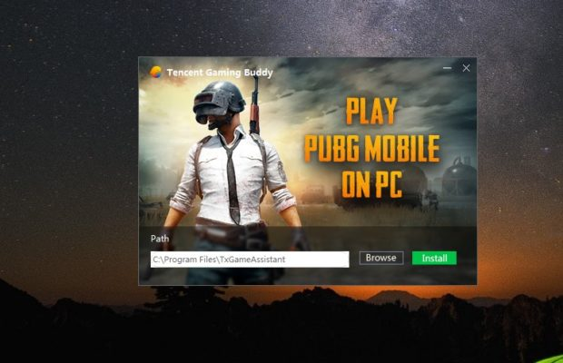 PUBG (Tencent Gaming Buddy) Screenshot for Windows10