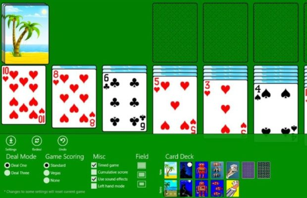 Classic Solitaire Screenshot for Windows10