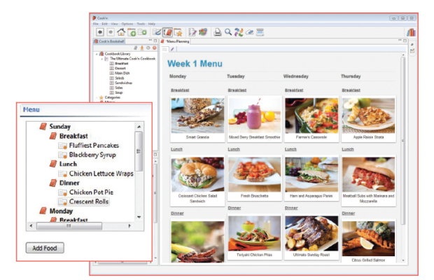 Cook'n Recipe Screenshot for Windows10