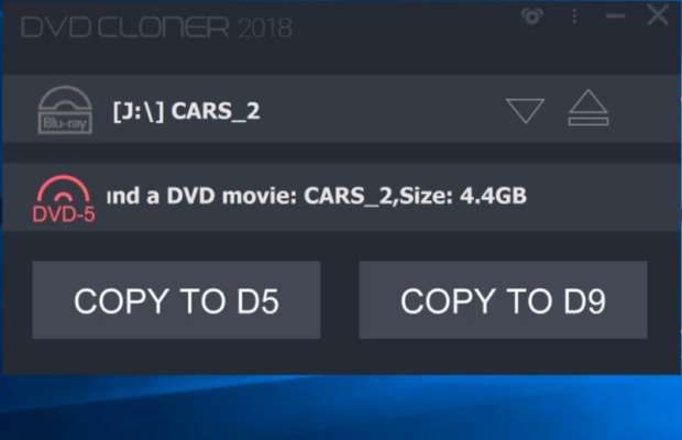 DVD-Cloner Screenshot for Windows10